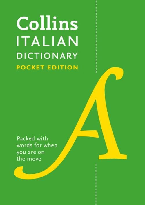 Collins Italian Dictionary: Pocket Edition (vinyl cover) - 8th ed.