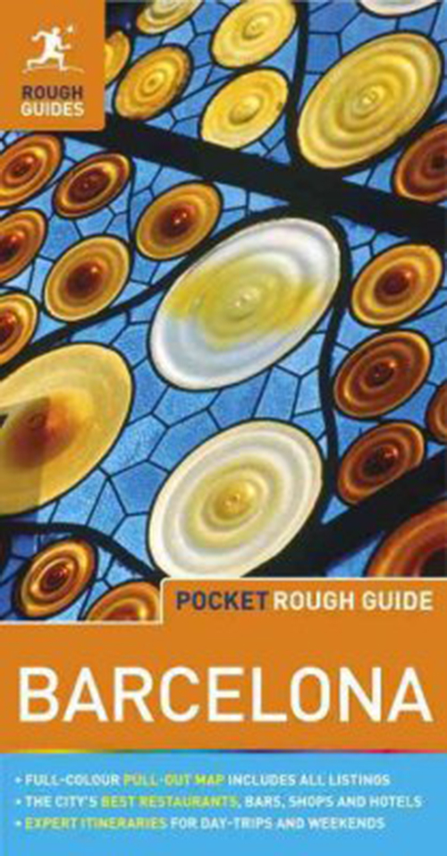Barcelona Pocket, Rough Guide (4th ed. Mar. 17)