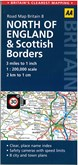 AA Road Map Britain 8: North of England & Scottish Borders