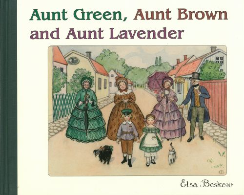 Aunt Green, Aunt Brown and Aunt Lavender (HB)