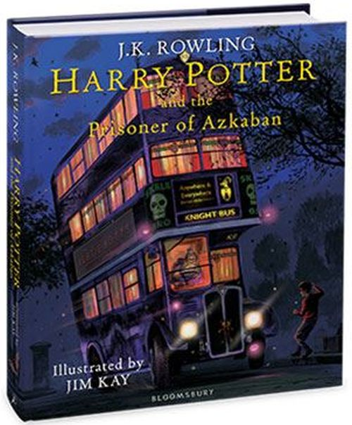 Harry Potter and the Prisoner of Azkaban (HB) - illustrated edition - (3) Harry Potter