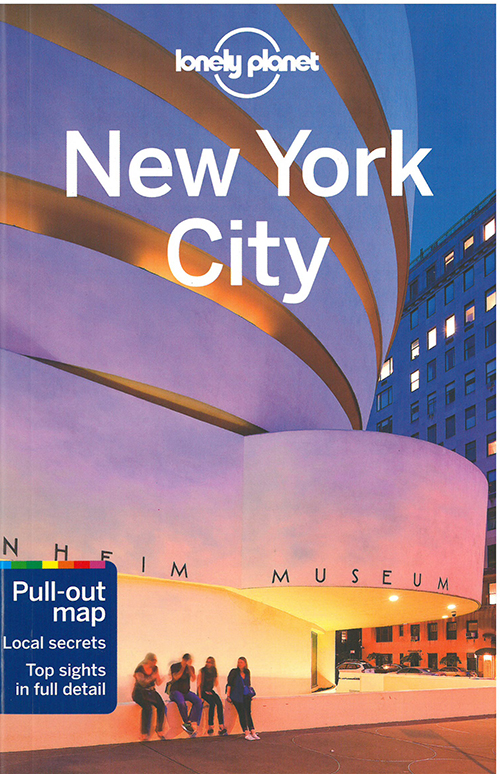 New York City, Lonely Planet (10th ed. Aug. 16)