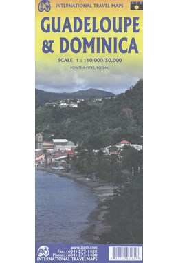 Guadeloupe & Dominica, International Travel Maps