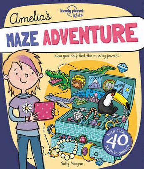 Amelia's Maze Adventure, Lonely Planet (1st ed. May 17)