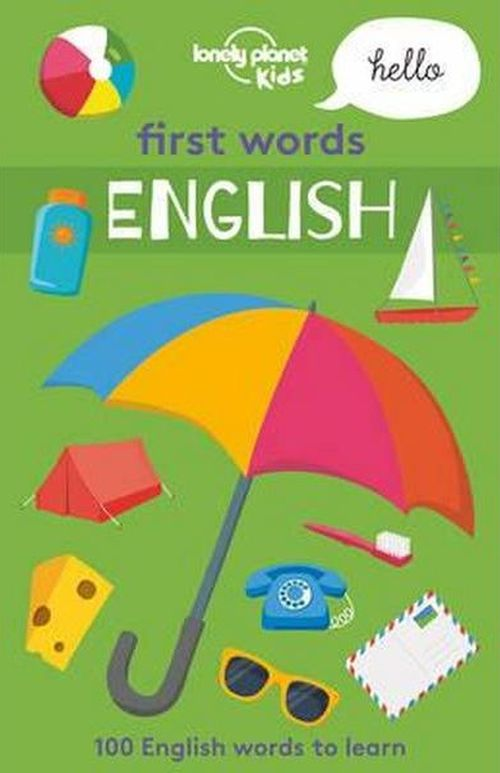 First Words: English, Lonely Planet (1st ed. Mar. 17)