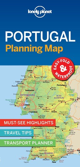 Lonely Planet Planning Map: Portugal, Lonely Planet (1st ed. July 2018)
