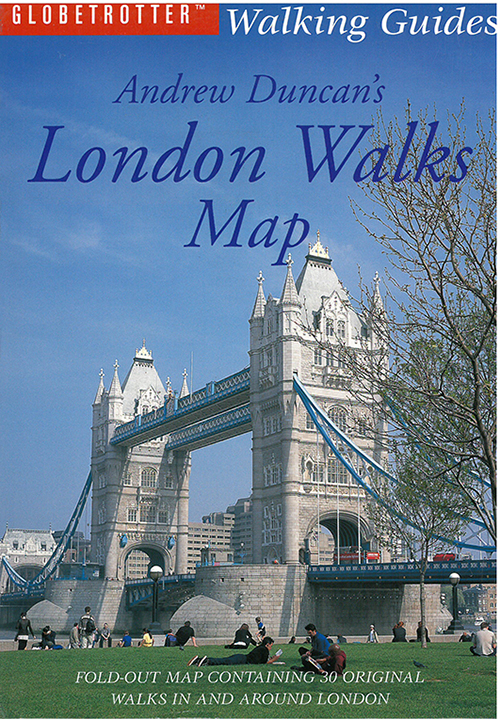 Andrew Duncan's London Walks Map