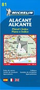 Alicante, Michelin 81 1:10.000