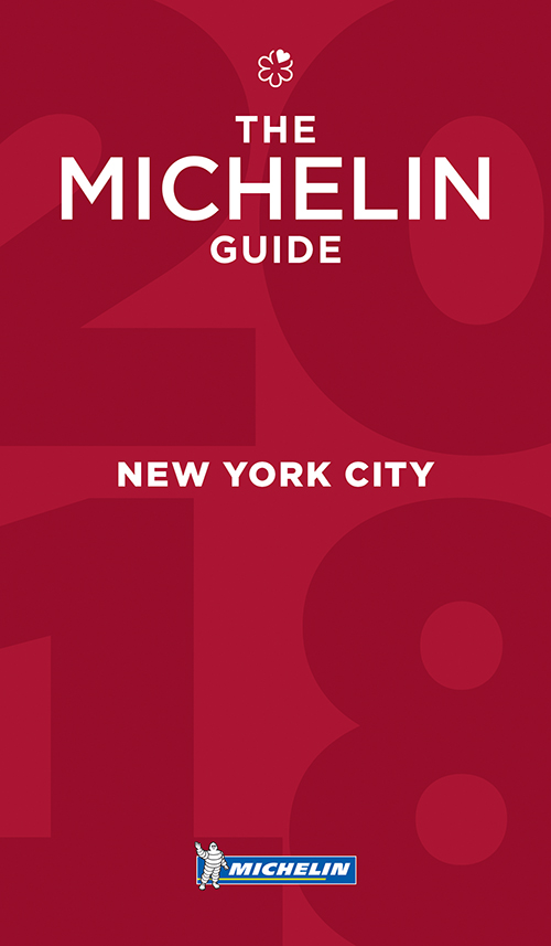 New York City 2018, Michelin Restaurants (13th ed. Nov. 17)