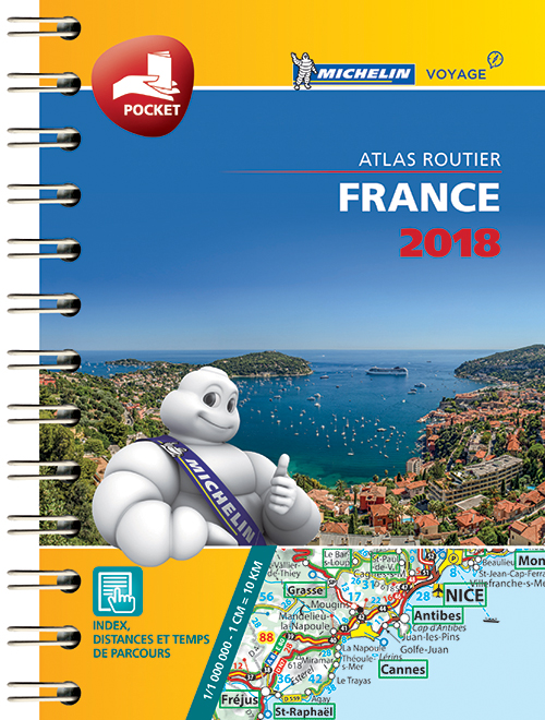 France 2018, Michelin MINI Atlas