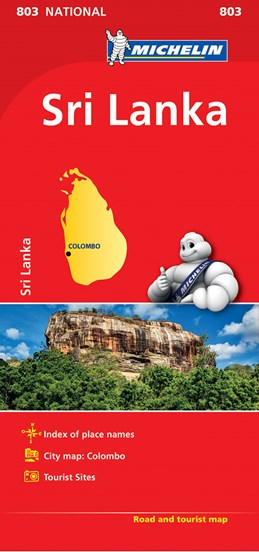 Sri Lanka, Michelin National Map 803