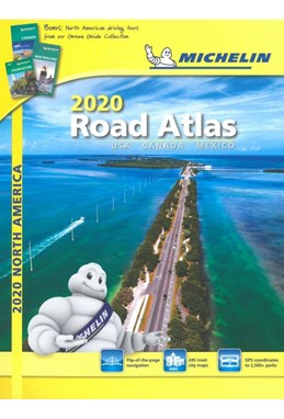 USA, Canada & Mexico, Michelin Road Atlas 2020