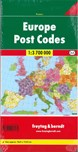 Europe Post Codes Poster