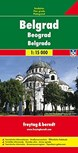 Beograd - Belgrade,  Freytag & Berndt City Pocket + The Big Five
