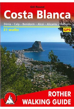 Costa Blanca, Rother Walking Guide